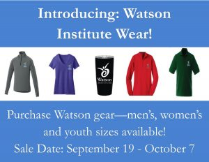 Watson Wear Announcement- Home Page Update